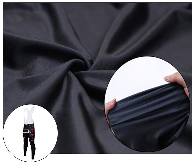 Siilenyond 2019 Women Winter Keep Warm Cycling Pants Thermal Fleece MTB Bike Cycling Trousers With Coolmax 3D Gel Padded 7