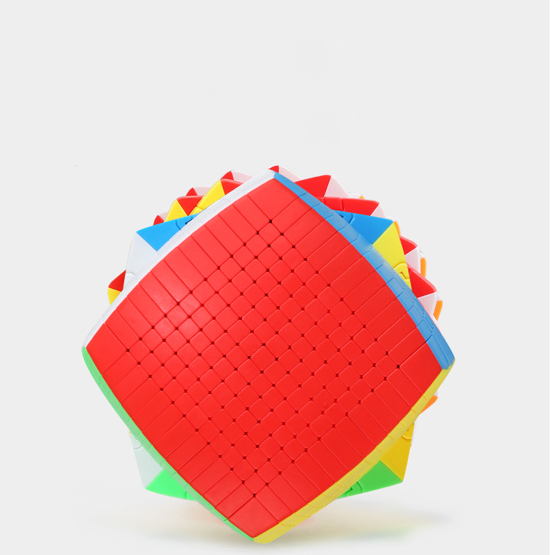 Newest Top SHENGSHOU 12 Layers 100mm Stickerless 12x12x12 Magic Cube Speed Puzzle 12x12 Cube Educational Toys Gift cubo magico