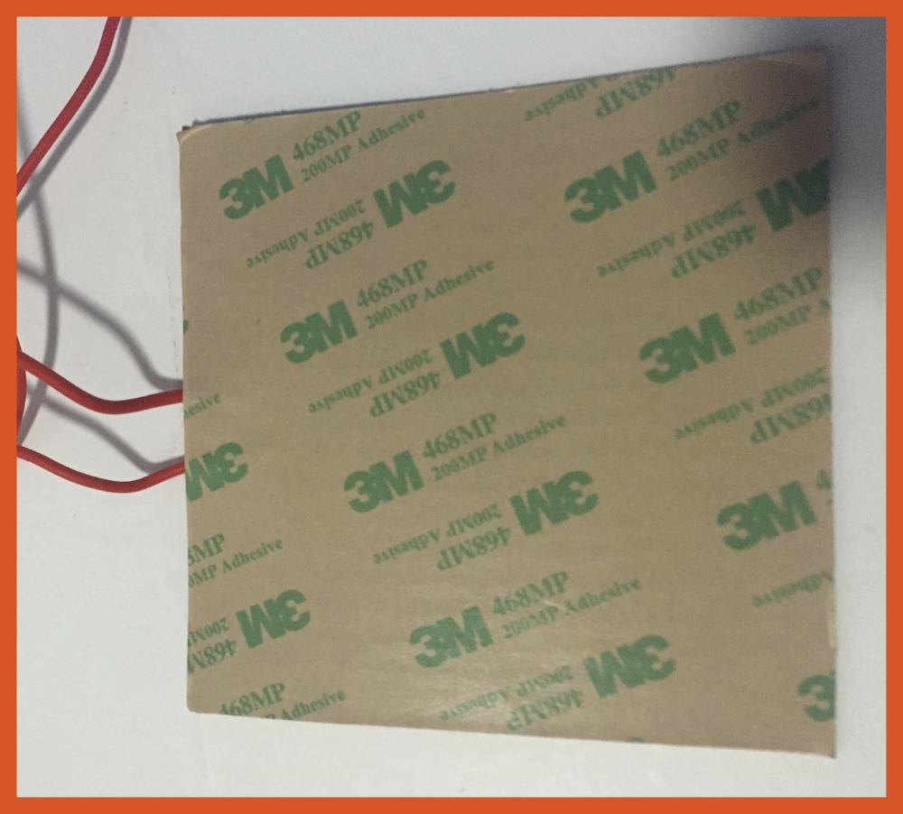 100 mm x 100 mm 150 w 24 v silicone riscaldatore silicone heating pad/element Used for High speed copier with ink  3D printer used 100
