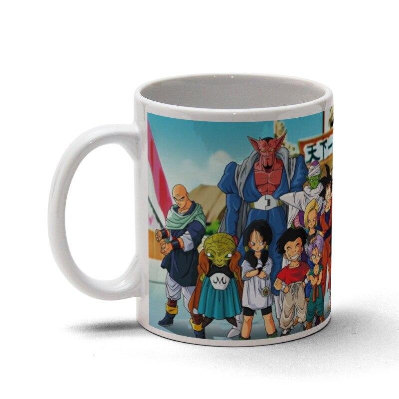 Dragon Goku Super Coffee Mug Cups Ceramic Mugs Ball Travel Nnwm80yOv