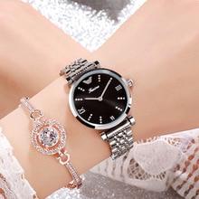 2019  Fashion Women Watches Best Sell Clock Luxury Rose Gold Women's Bracelet Quartz Wrist Watches Ladies Watch New Dropshipping все цены