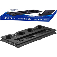 Playstation 4 Slim console Stand + Cooling Fan + Charging Station + USB HUB
