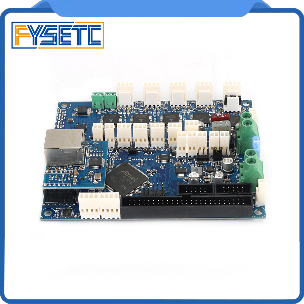 Cloned Duet Ethernet Advanced 32 Bit Electronics Board V1 04 Providing Ethernet Connectivity For 3D Printers
