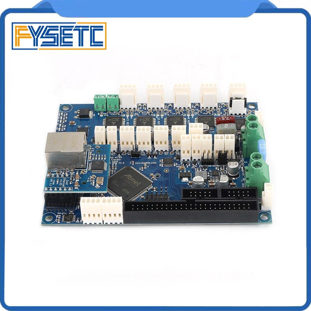 Клонированный дуэт Ethernet V1.04 Advanced 32 бит электроники доска обеспечения подключения Ethernet для 3D принтеры станки с ЧПУ