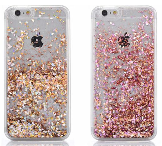 rose gold glitter iphone 7 plus case