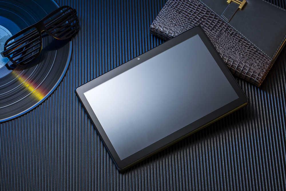 """شحن مجاني أندرويد اللوحي اللوحي اللوحي 10 بوصة IPS 10 الأساسية 4GB RAM 64GB ROM المزدوج سيم بطاقة المحدودة مكالمة هاتفية 10.1 """"فابلت T10"""