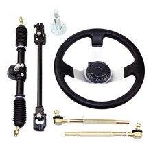 For Kart UTV Go Kart 110cc Steering System Kit car accessories fid expansion bearing steering system kit for losi 5ive t