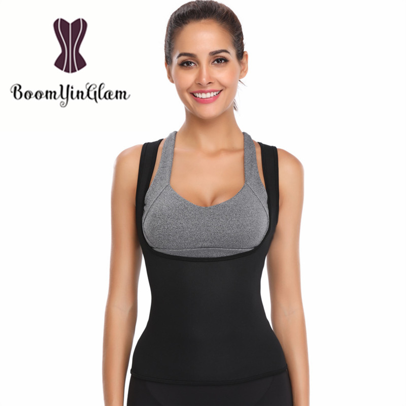 2d533d6ce16bf Personality Straps Neoprene Waist Trainer Body Shapewear Slimming Waist  Cincher Sweat Sauna Hot Shaper Thermal Vest 606