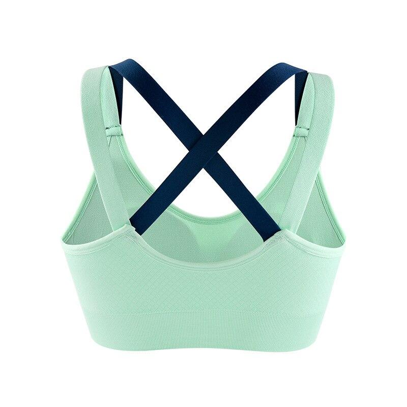0238ee7616004 Dropwow Woman s Back Cross Compression Sports Bra Sportswear ...