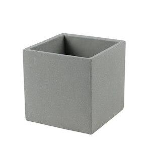 Nicole силиконовая форма для бетона цветочный горшок форма квадратная ручная работа ремесло геометрический Плантатор сад бонсай украшение ин...