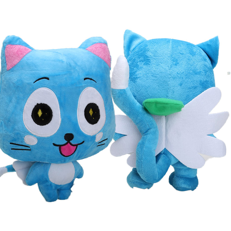 big sale Japanese Anime Cartoon Fairy Tail Happy Plush Toy kids baby toy christmas figt baby toys