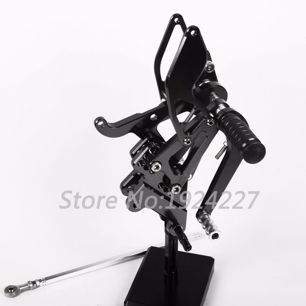 For Yamaha YZF R6 2003-2005 Motorcycle Footpegs Hot Sale CNC Aluminum Adjustable Rearset Foot Pegs Rear sets Motorbike Footrests