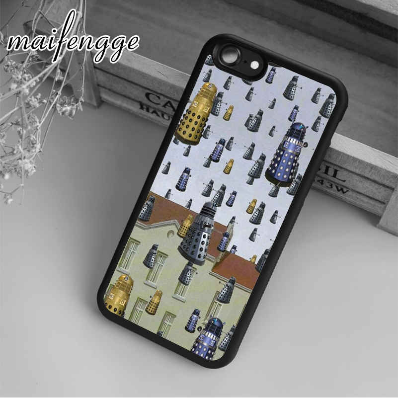 Cellphones & Telecommunications Maifengge Doctor Who C04 Case For Iphone 6 6s 7 8 Plus X 5 5s Se Case Cover For Samsung S5 S6 S7 Edge S8 Plus Shell