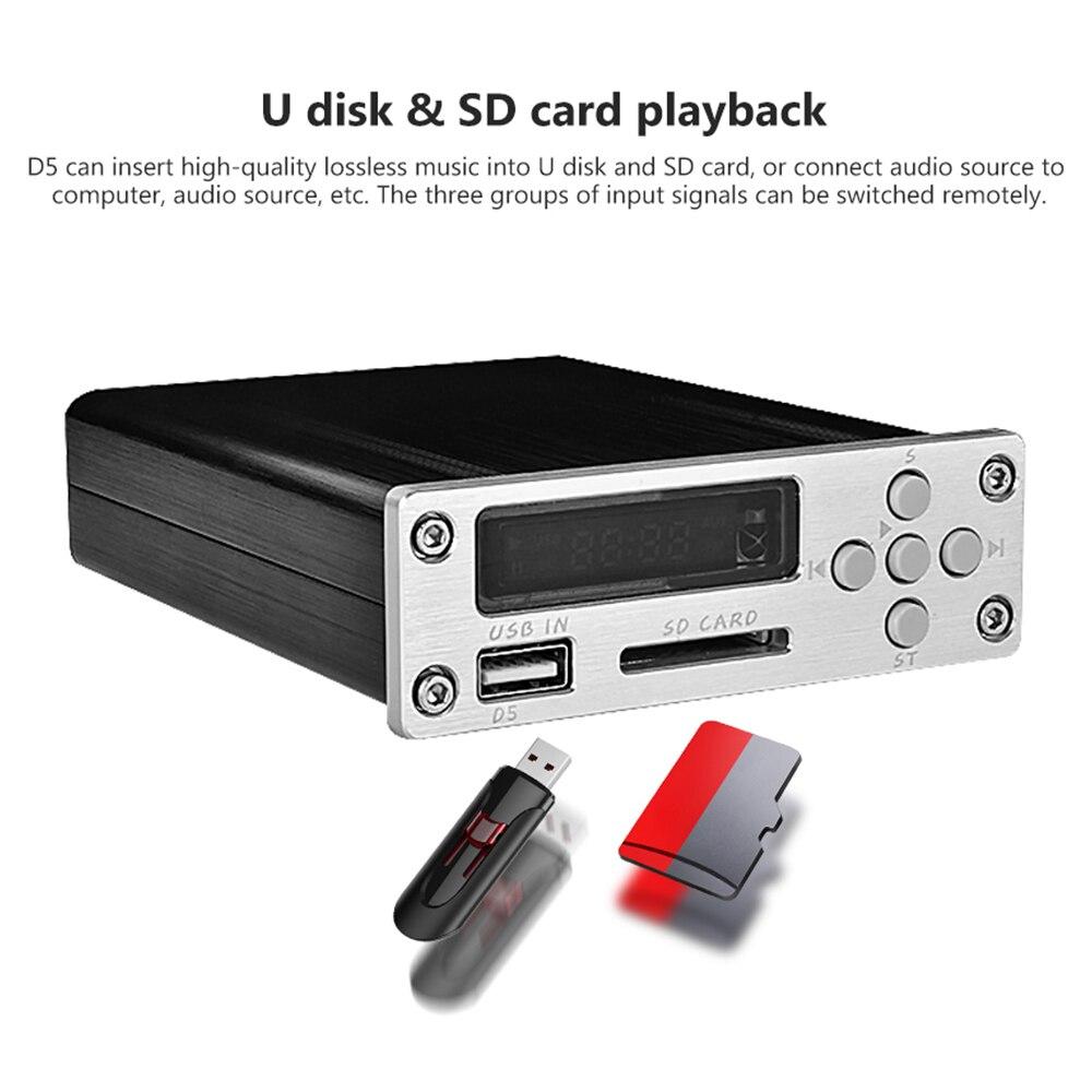 Carte décodeur sans perte HiFi fièvre singe décodage voiture MP3 lecteur de musique Suport USB U disque bricolage pour puissance Audio amplificateur Home cinéma