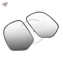 1 Pair Motorcycle Clear Rear View Side Mirror Glass case for Honda Goldwing GL1800 2001-2012 F6B 2013-2016
