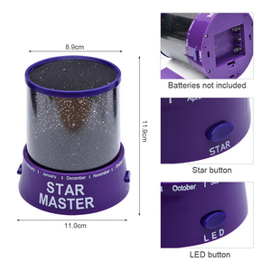 Image 5 - LED Star Night Light Projector LED Night  Star Moon Master Romantic Colorful Projection Lamp Children Kids Home Decor
