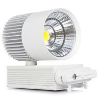 Track Lighting 40W LED Track Rail Light Modern Clothing Shop Store Shoe COB Spot Rail Spotlight 2/3/4 wire Phase Track Lamp
