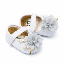 Newborn Infant Baby Princess Shoes Little Girls Embroidery Floral Pattern Bow Crib First Walkers Baby Anti-slip Sneaker #YL1(China)