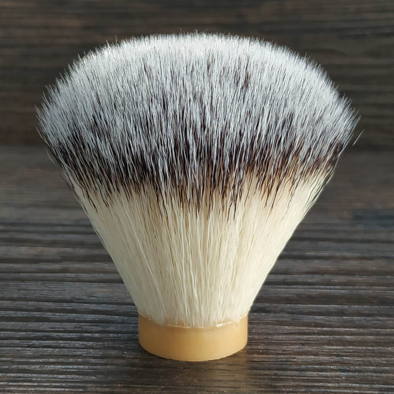 DSCOSMETIC Shaving Brush Knots For Man Wet Shaving Fit For DIY 24mm/26mm Synthetic Hair Beard Brush Handle