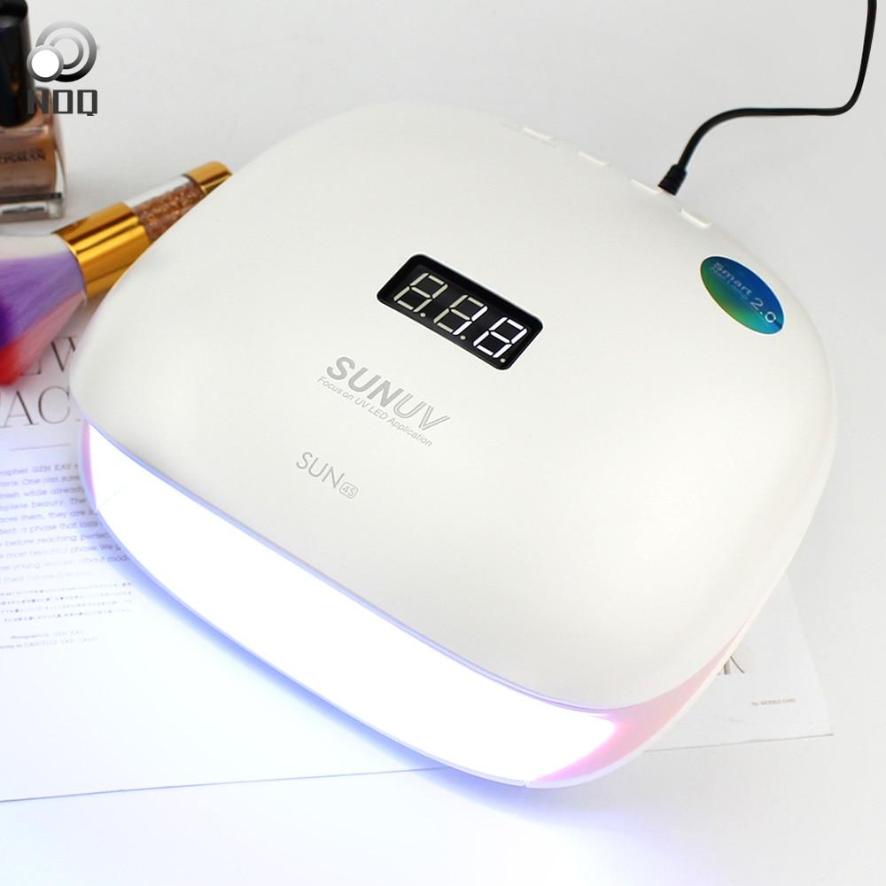 NOQ SUNUV SUN4S лампа для ногтей УФ-светодиодный ногтей сушилка для Полимеризации Гель полировальная машина маникюр лампа Light Therapy Salon оборудовани...