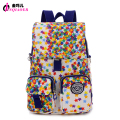 JINQIAOER Mochilas mujer Waterproof Nylon Flap Backpack Stars Printing Women Small Backpack School Bags Fashion Crossbody Bag