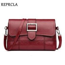 f563bfbd62d REPRCLA marca diseñador mujer bolso de hombro de moda bolso y bolso de  cuero PU bandolera