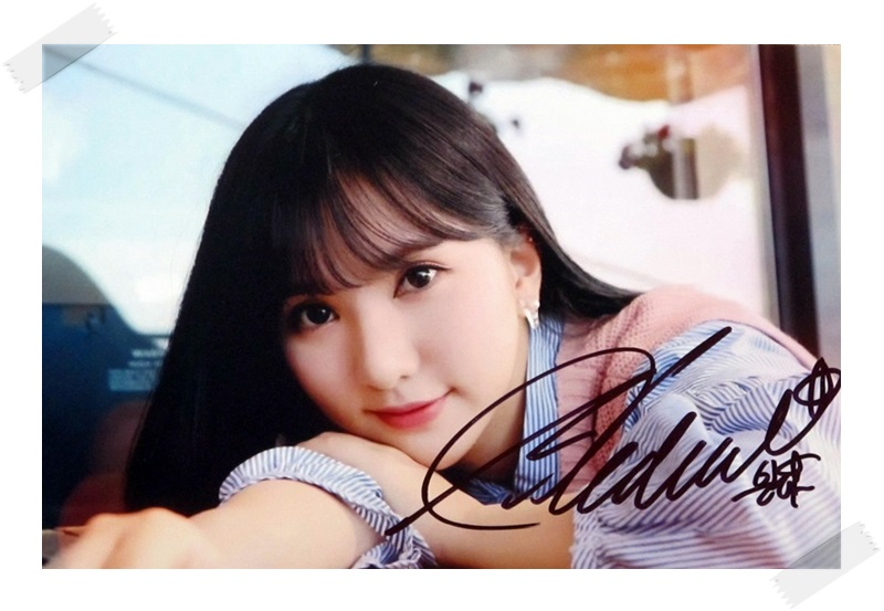 signed  GFRIEND Eun Ha  Jung Eun Bi autographed photo  6 inches freeshipping 11201701 signed cnblue jung yong hwa autographed photo do disturb 4 6 inches freeshipping 072017 01