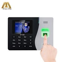 New!!ZK ST100 Fingerprint TCP/IP USB Office Time Clock Employee Recorder Device Biometric Time Attendance System