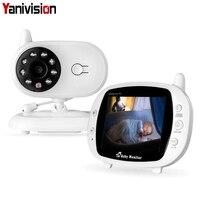 Wireless 3.5 inch Digital Video Baby Monitor Audio Music Infant Camera Temperature Sensor Intercom Nanny Monitor Portable