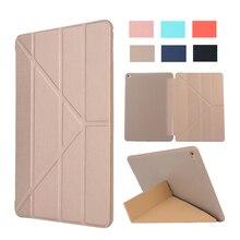 Para iPad mini 4 lujo PU Flip Cubierta Elegante Funda de Silicona imán sleep despierta Para apple iPad mini4 7.9 pulgadas Retina