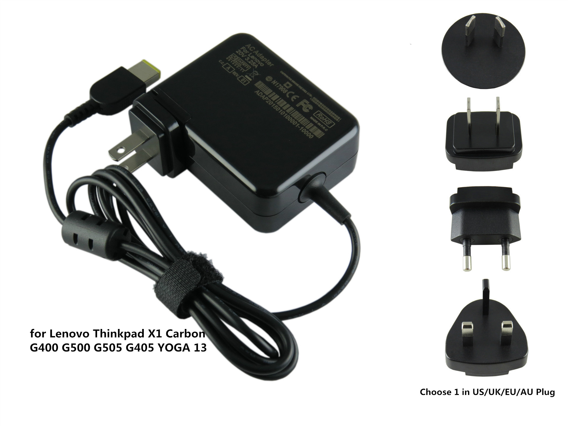 65W Factory Direct AC Laptop Power Adapter Charger For