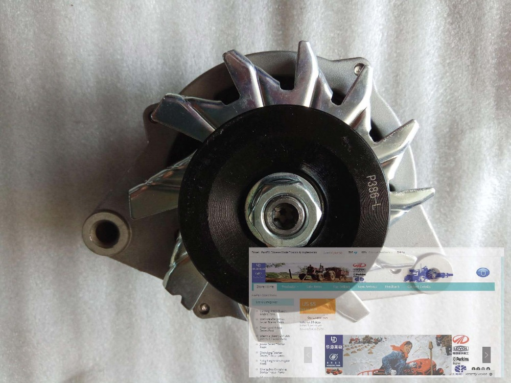 490B-52000-18, alternator for Zhejiang Xinchai engine 498B zhejiang xinchai a498bt the set of pistons with piston pins for one engine part number