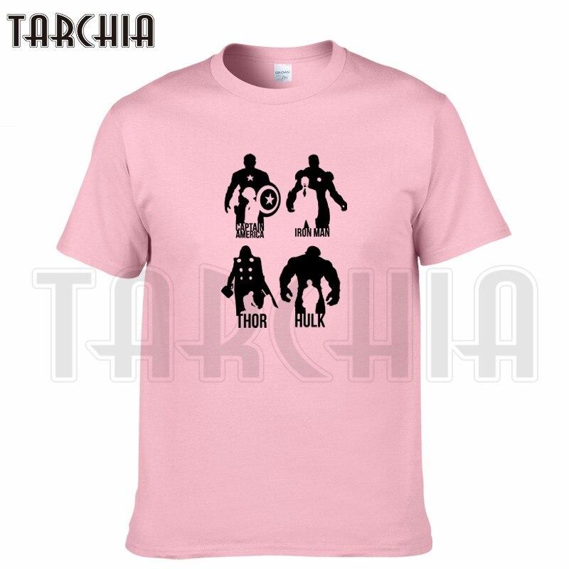 Raytheon TARCHIA 2018 t-shirt de marca Homem de ferro Hulk capitão algodão  tops t-shirt dos homens de manga curta menino ocasional homme tshirt t além  de d87566dd05d