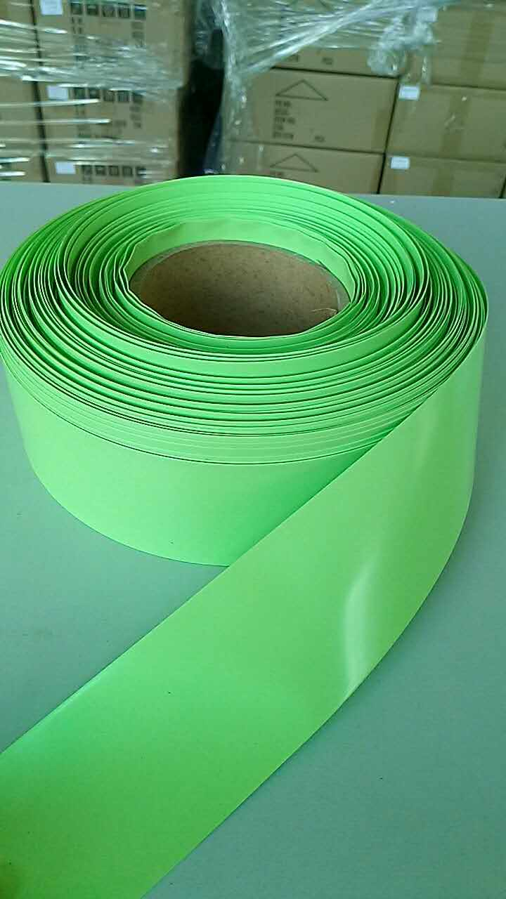 XNEMON 1m PVC Heat Shrink Tubing Electronic Insulation Materials Light Green 40/55/63/86/95/125mm Wide For Lipo Battery Films