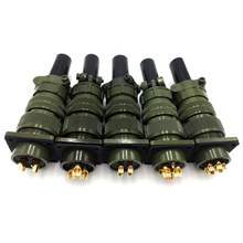 MIL-STD 5015 Servo connector Military standard connectors plug socket 20-23 20-19 20-4 20-15 20-16 20-7 20-27 20-29 20-18