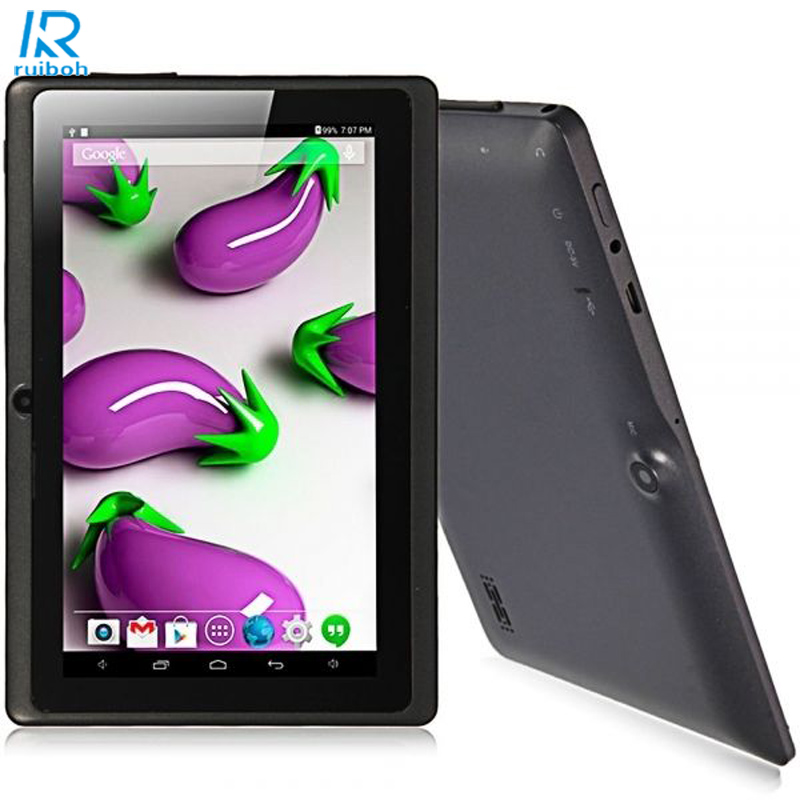7 Inch Multi Color WIFI Quad Core Tablet PC HD 1024 600 Google Play Android 4