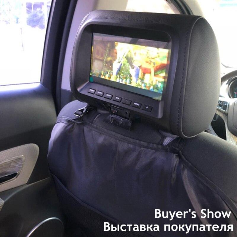 MZORANGE Car Monitor Inch LCD Digital Screen Car Headrest Monitor - Car show headrest monitors