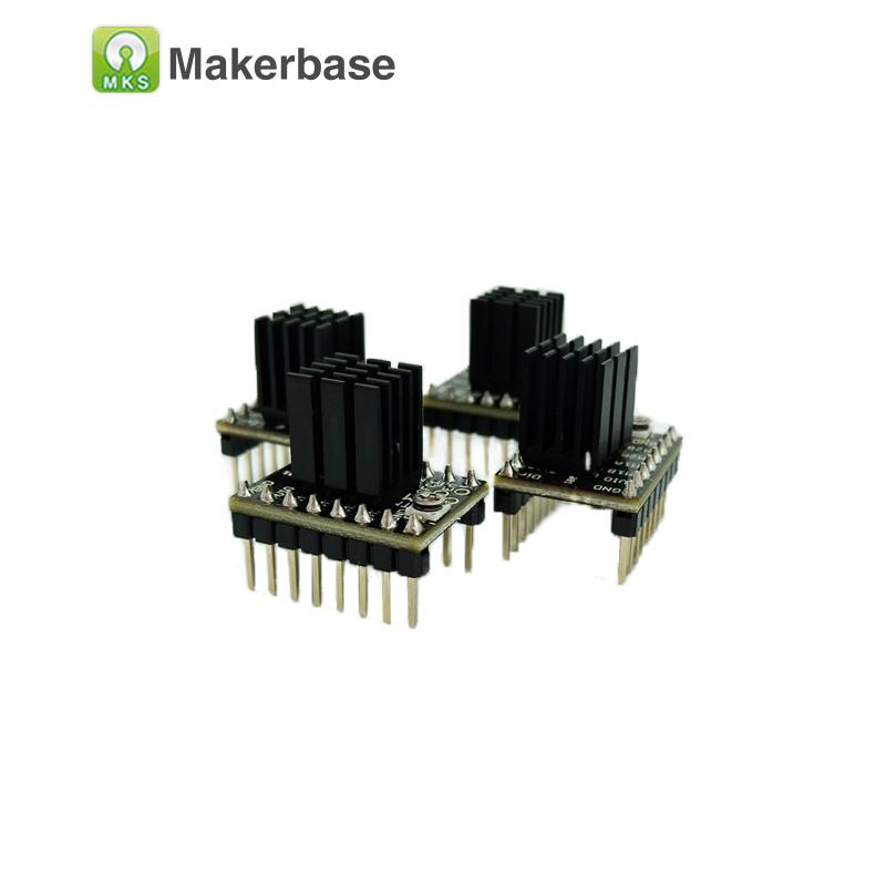 Prix pour 3D imprimante pièces StepStick 4 pcs MKS TMC2100 moteur pas à pas pilote ultra-silencieux contrôleur protection supérieure