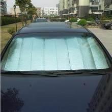 Summer aluminum foil car sun-shading stoopable sun block silver sunscreen board supplies