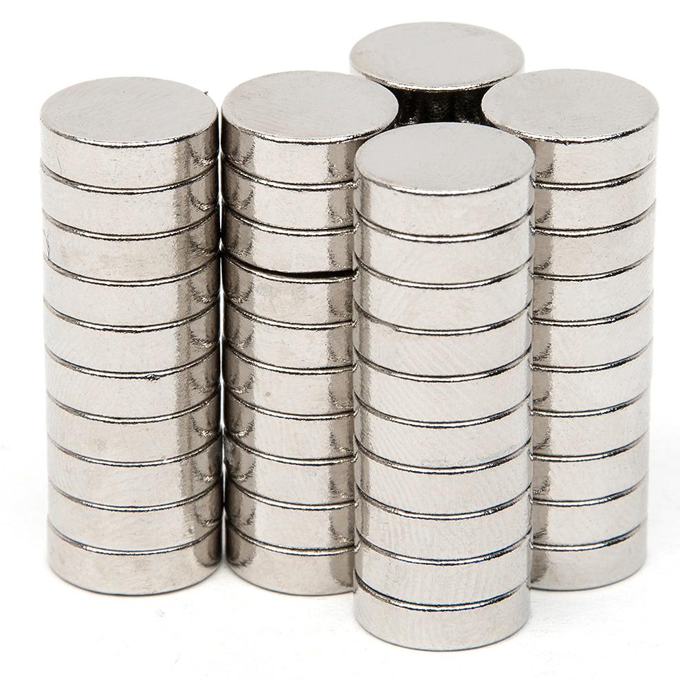 50pcs Powerful Acoustic Field Speaker Diameter 9.9mm x 2.7mm Block N52 Rectangular Magnet Rare Earth Neodymium Permanent Magnet
