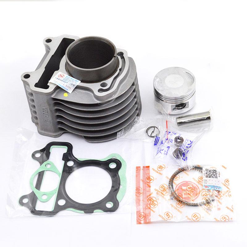 Kit de cylindre de moto joint d'anneau de Piston pour Honda DIO VISION 110 NSC110 NSC 110 NSC110WHB NSC110MPDC NSC110E NSC110WHE
