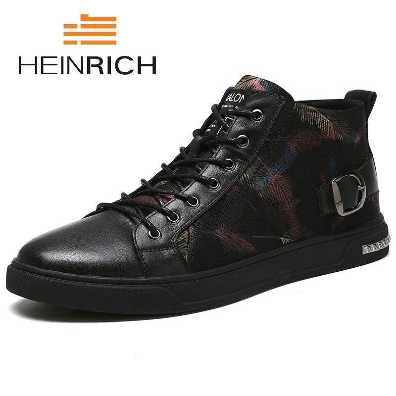Генрих 2018 горячая распродажа новая мода высокое качество хип хоп платье; ботильоны из натуральной кожи острый носок Мужские ботинки пинетк