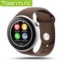 Torntisc Dual Bluetooth 3.0/4.0 Smart Watch C1 IP67 Водонепроницаемый с Сердечного ритма Мониторинга Удаленной Камеры Для Android iOS