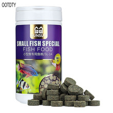 OOTDTY 150ML Small Special Nutritious Dried Fish Food Tropical Veggie Pet Eating Feeding