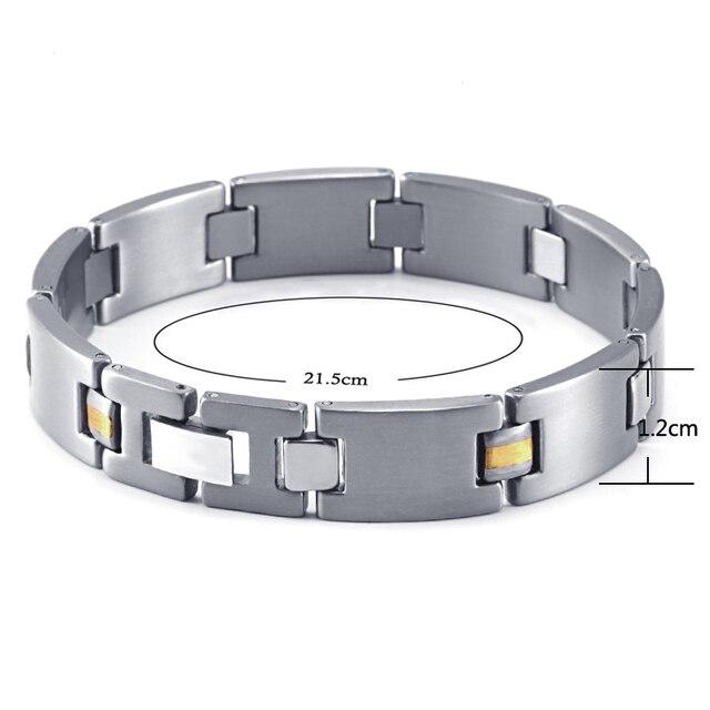 HTB1VyvYRVXXXXbLXVXXq6xXFXXXh - RainSo 2019 Fashion Titanium Bracelets & Bangles For Women Men Trendy Simple Generous Jewelry OTB-216  charm bracelets