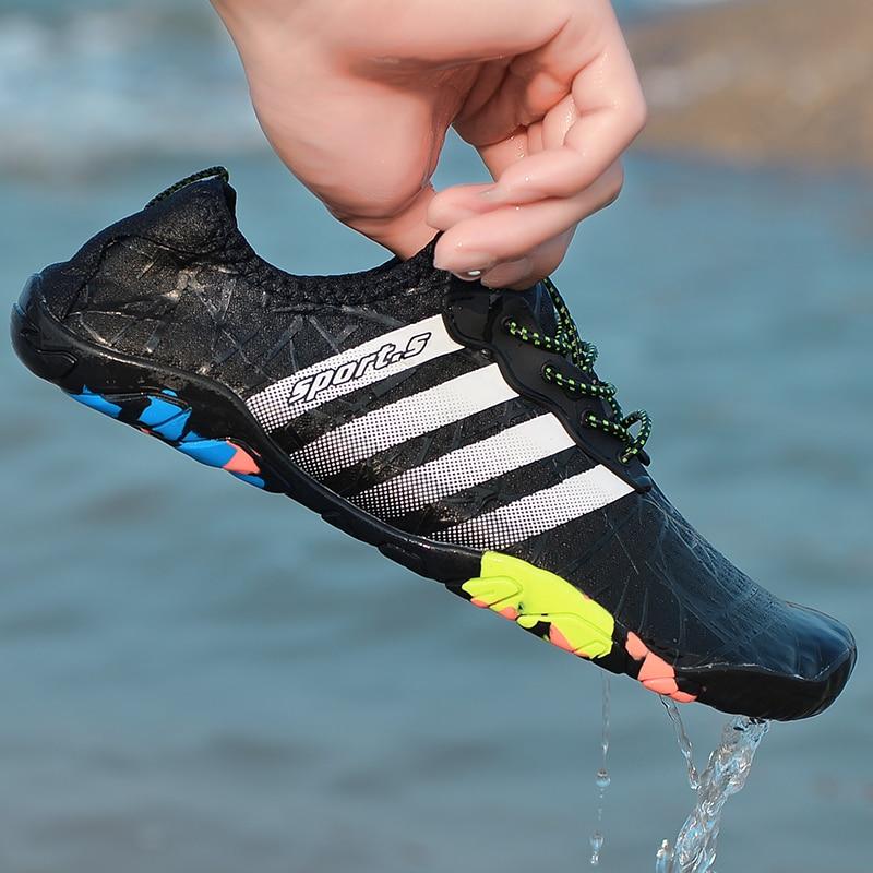 Summer Men Light Outdoor Sneakers Women Balance Beach Water Shoes Yoga Swimming Soft Comfortable Seaside Adult Aqua