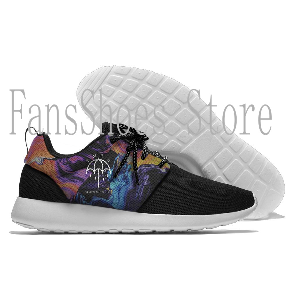 Bring me the horizon Running Shoes Lace Up Mesh Upper Sport Shoes Outdoor Activities Athletic Shoes Comfortable Sneakers
