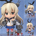 10cm Japanese Kantai Collection Shimakaze Doll Figurine Toys Commercial ver Figma Anime Action Figure Model Gifts RT212