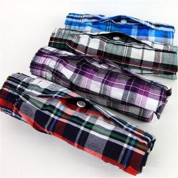 M-9XL Men's Underwear Loose Leisure Shorts Cotton Comfortable Men Boxer Shorts Fashion Boxers Men Lounge Home Wear Underwears Boxers