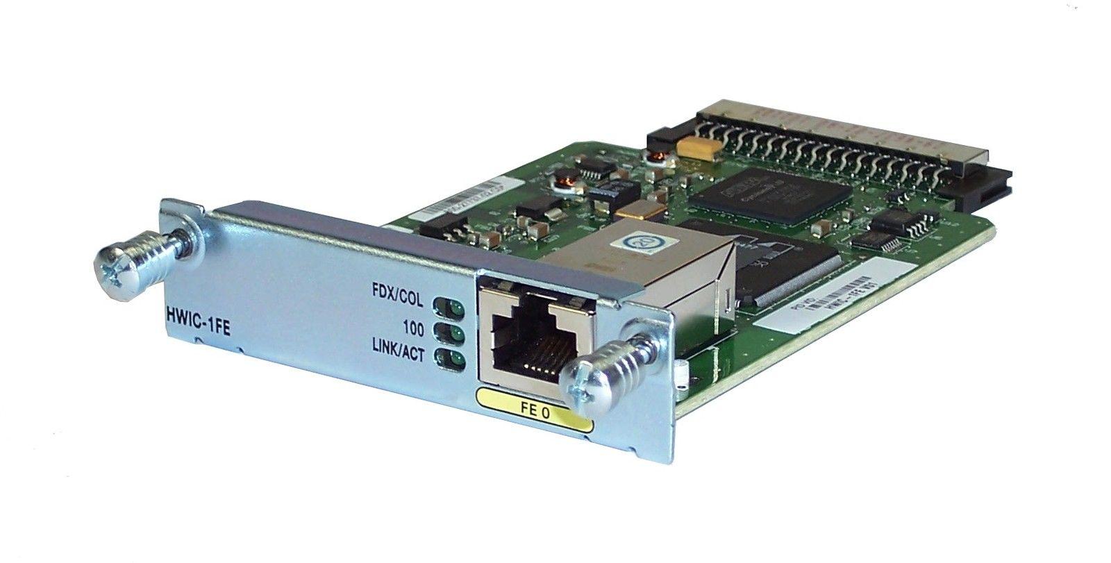 Routeur HWIC-1FE d'origine 1 module de port Ethernet